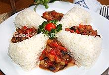 Рис на Масленицу