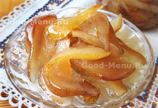 варенье из яблок и груш на зиму рецепт с фото