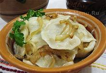 Рецепт вареников на Масленицу