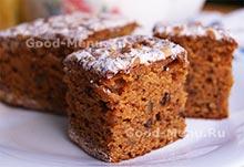Морковный пирог - рецепт на Масленицу