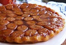 Банановый пирог на Масленицу