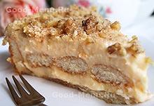 Торт из печенья на Масленицу